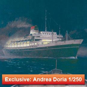 Andrea Doria & Stockholm 1/250