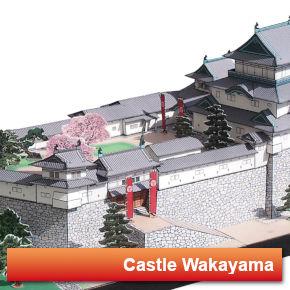 Japanese Castle Wakayama