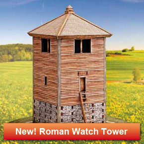 Roman wooden watchtower