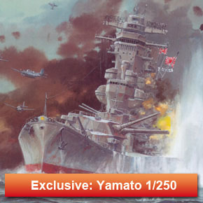 Exclusive model - Battleship Yamato 1/250