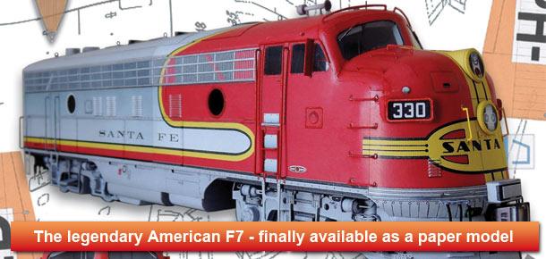 Diesel locomotive F7