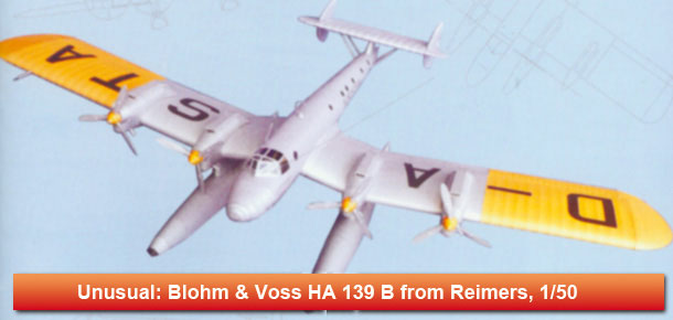 German Floatplane Blohm & Voss HA 139 B
