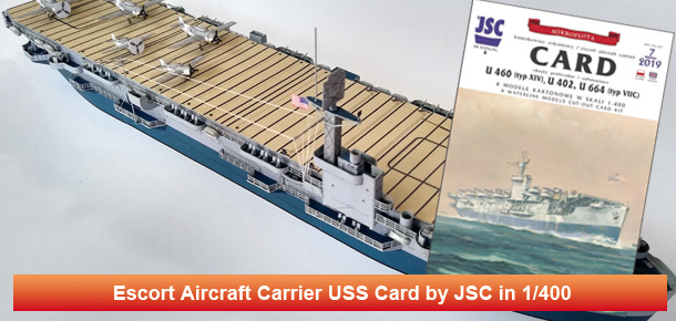 US escort aircraft carrier USS Card