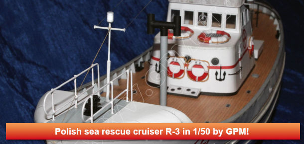 Polish sea rescue cruiser R-3