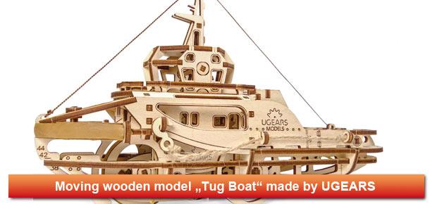 UGEARS tug boat