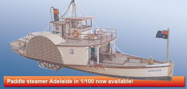 Australian paddle steamer Adelaide
